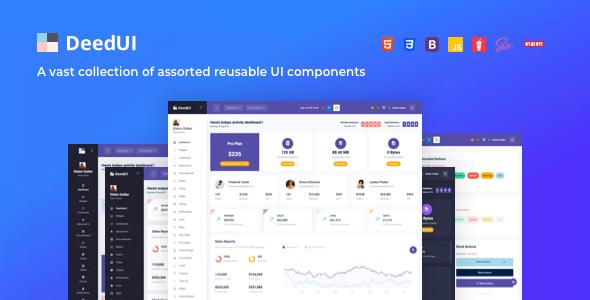DeedUI — Responsive Bootstrap Admin Template
