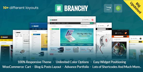Branchy - Opencart 3 & 2 Responsive Theme