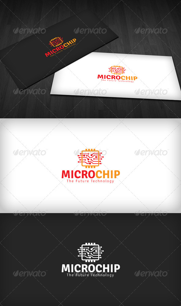 Microchip Logo - Objects Logo Templates