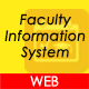 Faculty Information System Project in ASP .Net MVC C#