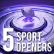 5 Sports Openers Pack - VideoHive Item for Sale