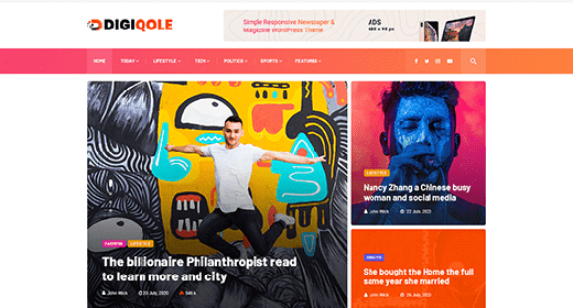 Best Selling WordPress News Themes and Magazine Themes