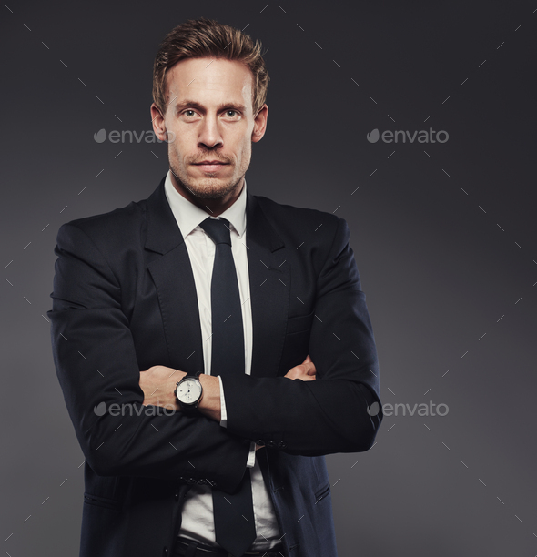 Wear a suit with confidence! - Stock Photo - Images