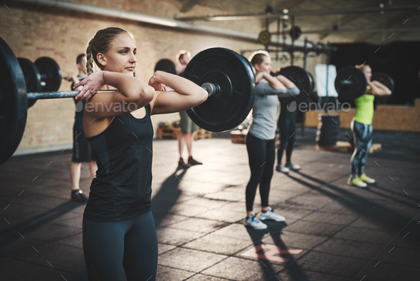 Making every lift count! - Stock Photo - Images