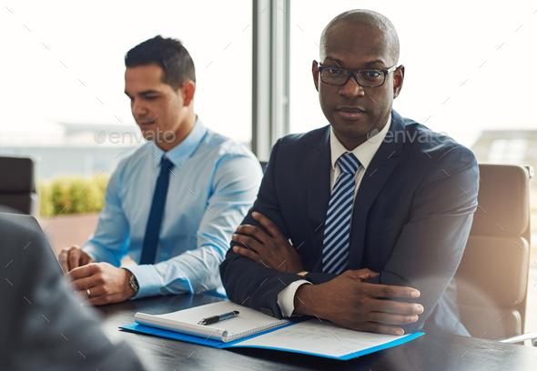 Executive multiracial business team - Stock Photo - Images