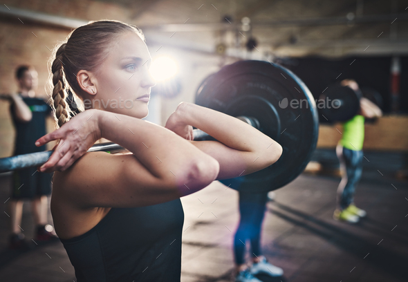 Strengthening with weights - Stock Photo - Images
