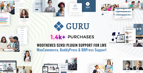 Guru | Learning Management WordPress