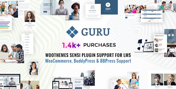 Guru | Learning Management WordPress