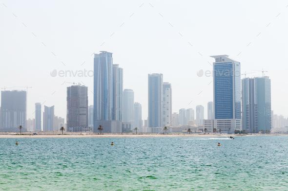 Dubai skyline - Stock Photo - Images
