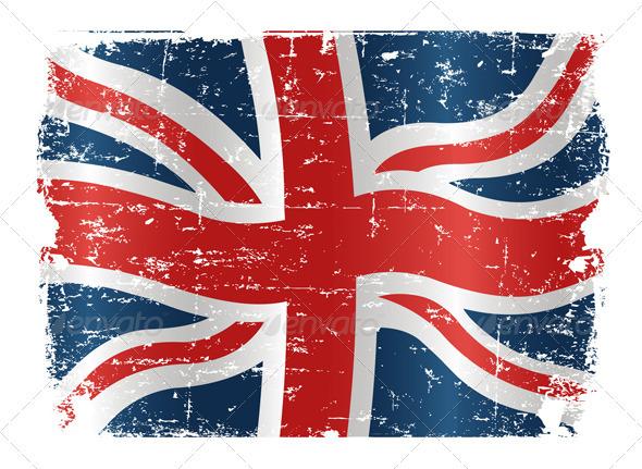UK Flag Design - Decorative Symbols Decorative