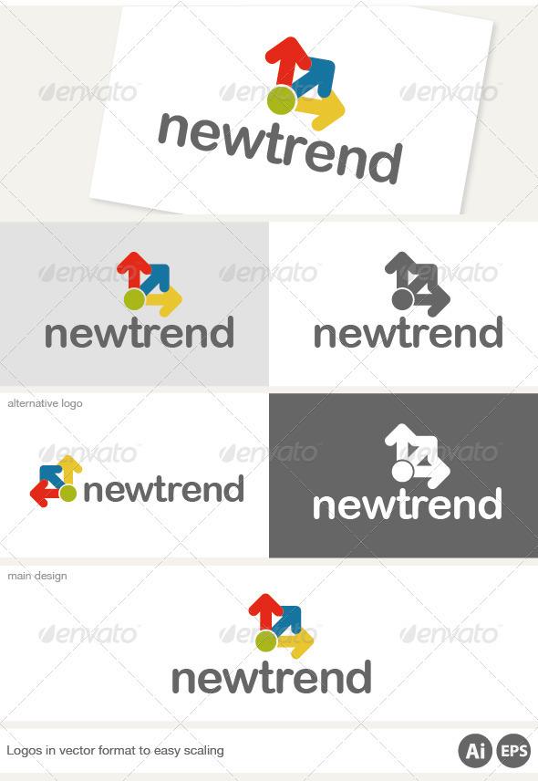 New Trend Logo - Symbols Logo Templates