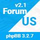 ForumUS | Responsive phpBB 3.2.8 Style / Theme
