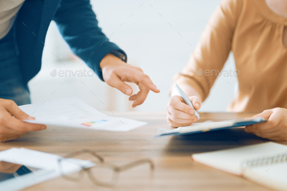 Working day in office - Stock Photo - Images