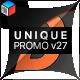 Unique Promo v27 | Corporate Presentation - VideoHive Item for Sale
