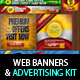 Multipurpose Web Banner & Ad Kit - PSD Templates - GraphicRiver Item for Sale