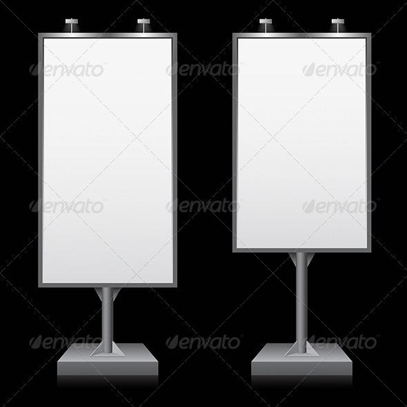 Billboard - Objects Vectors