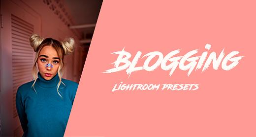 Blogging Lightroom presets