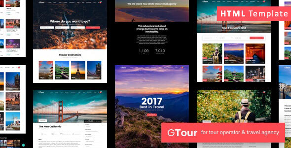 Grand Tour   Travel Agency HTML Template
