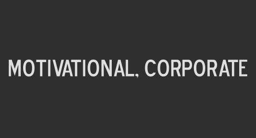 Motivational, Corporate
