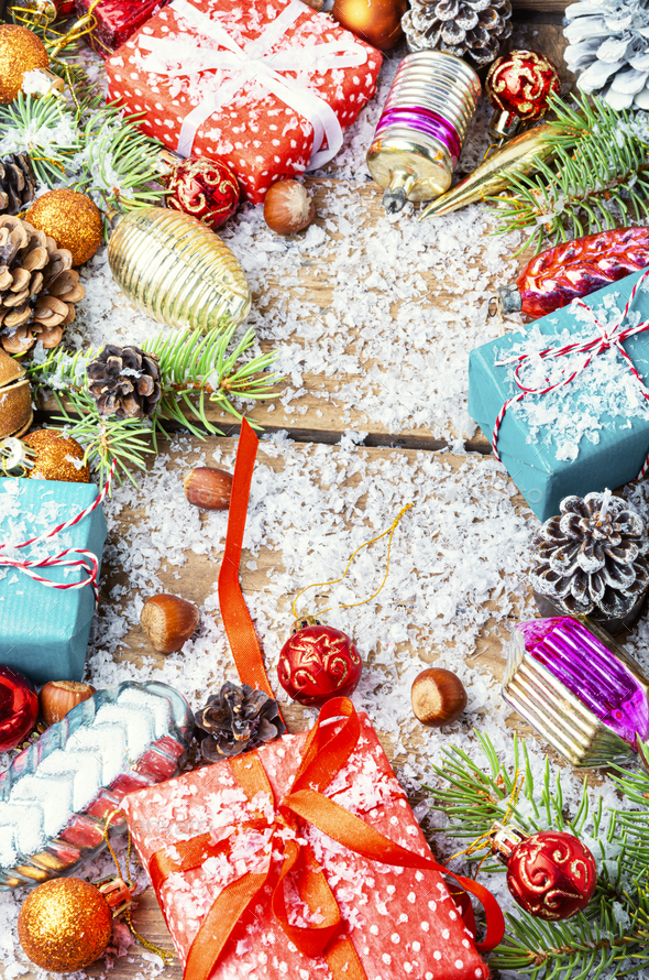 Christmas holidays composition - Stock Photo - Images