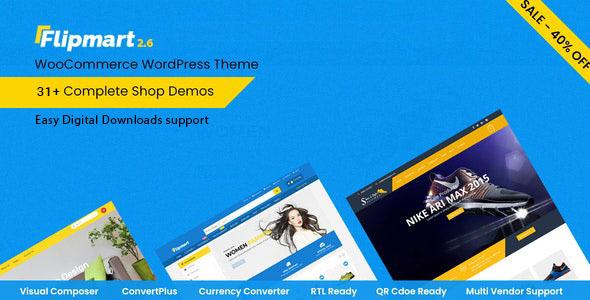 Flipmart - Responsive Ecommerce WordPress by CKThemes