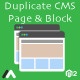 Free Download Magento 2 Duplicate CMS Page and Block Nulled