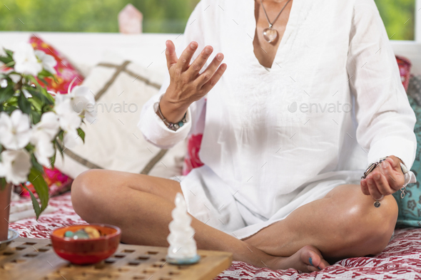 Giving Virtue Hand Gesture - Stock Photo - Images