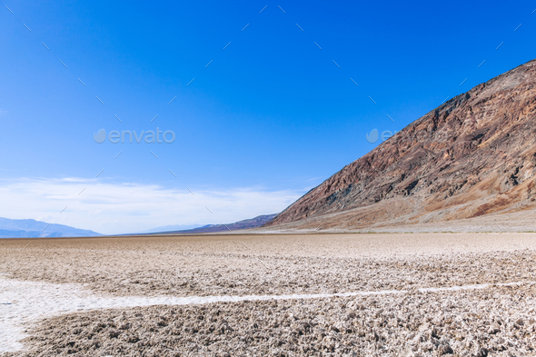 Death Valley landscape. California, USA - Stock Photo - Images