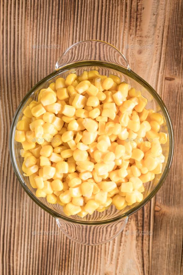 Sweet corn grains. - Stock Photo - Images