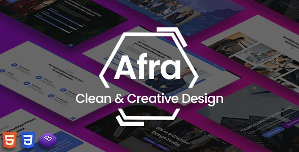 Afra - Multipurpose Business & Agency HTML5 Template by afracode