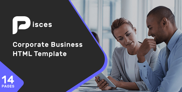 Pisces - Corporate Business HTML Template
