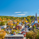 Montpelier town skyline in autumn, Vermont, USA - PhotoDune Item for Sale