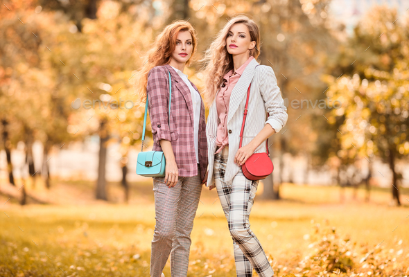 Two Girls - Stock Photo - Images