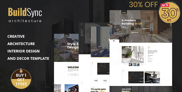 Build Sync - Architecture & Interior HTML Template