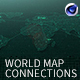 World Map Connections
