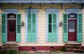Front of house in New Orleans, Louisiana