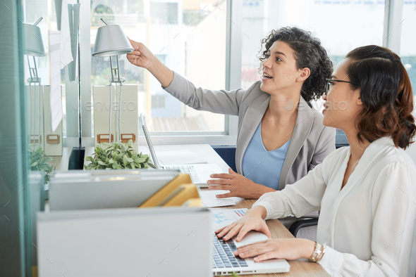 Business women working in office - Stock Photo - Images