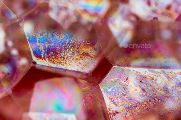 Close-up view of the bubbles - Stock Photo - Images