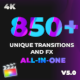 Unique Transitions and FX - VideoHive Item for Sale