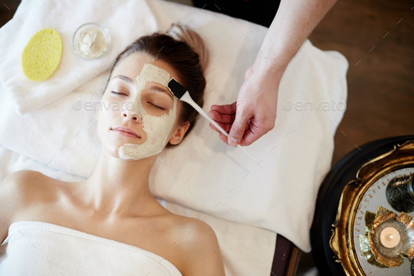 Beautifying Skincare in SPA - Stock Photo - Images