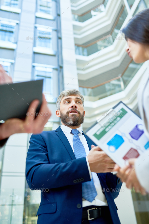 Discussing Mutually Beneficial Cooperation - Stock Photo - Images