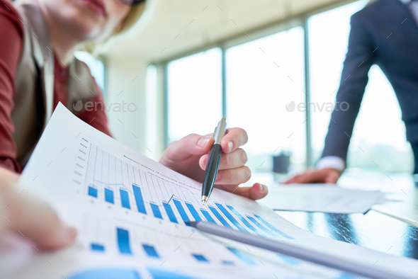 Working Meeting of Financial Managers - Stock Photo - Images