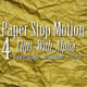 4 Paper Stop Motion - VideoHive Item for Sale