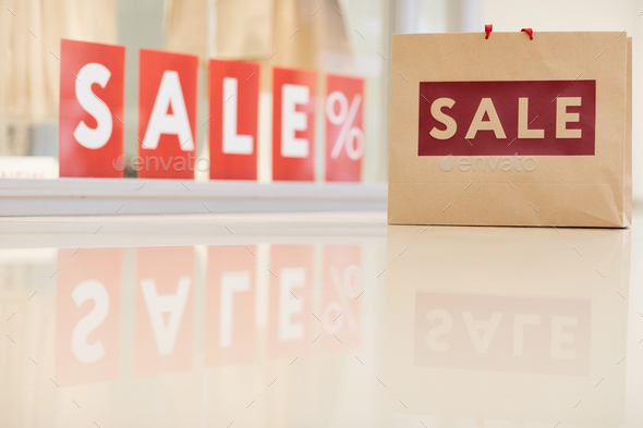 Sale in Clothing Store - Stock Photo - Images