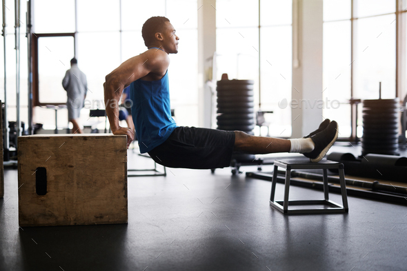 Cross Functional Training in Gym - Stock Photo - Images