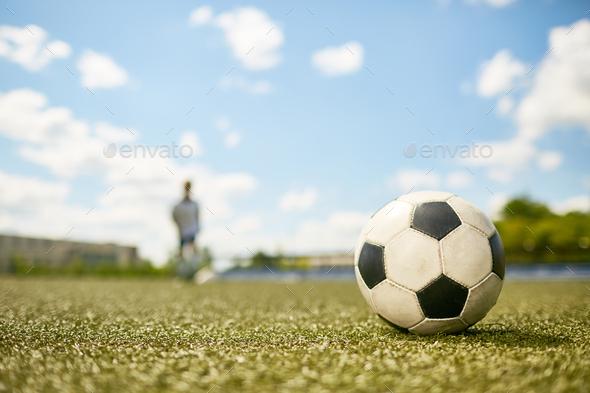 Football Ball - Stock Photo - Images
