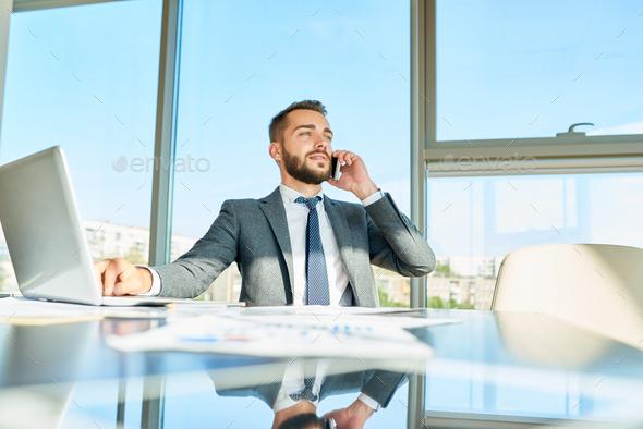 Businessman Making Money - Stock Photo - Images
