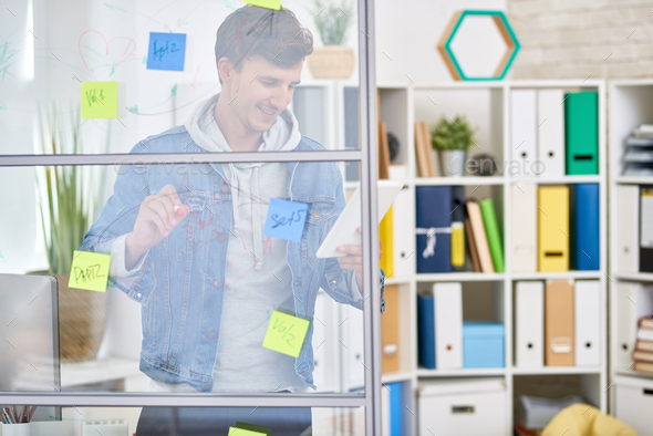 Young Entrepreneur Planning Startup - Stock Photo - Images