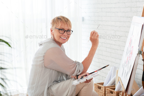 Talented woman - Stock Photo - Images