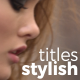 Stylish Titles | Premiere Pro - VideoHive Item for Sale
